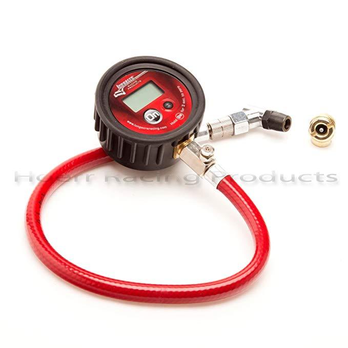 Longacre 50320 Semi Pro Digital Tire Gauge 0-60 Psi With Ball Chuck